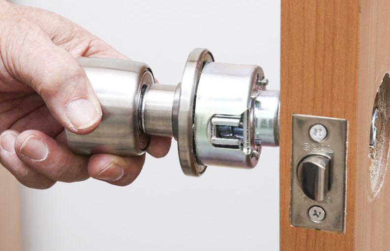 円筒錠の交換方法