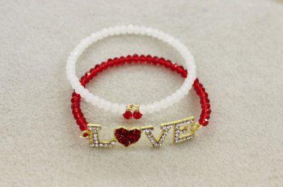 ep488 Love Heart Bracelet