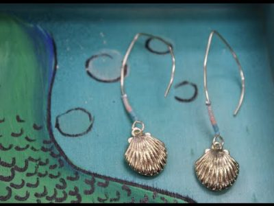 ep493 Seed Bead Earrings