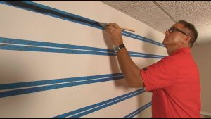 How To Paint A Wall Like Shiplap or Planking